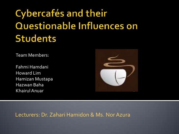 Team Members:Fahmi HamdaniHoward LimHamizan MustapaHazwan BahaKhairul AnuarLecturers: Dr. Zahari Hamidon & Ms. Nor Azura