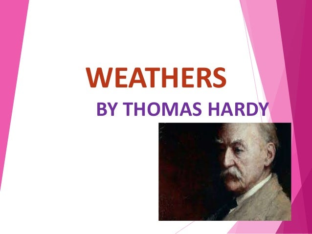 weathers by thomas hardy