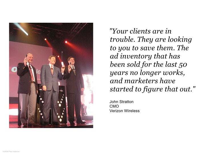 """""""Your clients are in                      trouble. They are looking                      to you to save them. The         ..."""