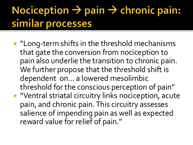  Prospective fMRI study of patients w LBP (Hashimi, 2013)  LBP progresses- acute subacute chronic patterns of brain ac...