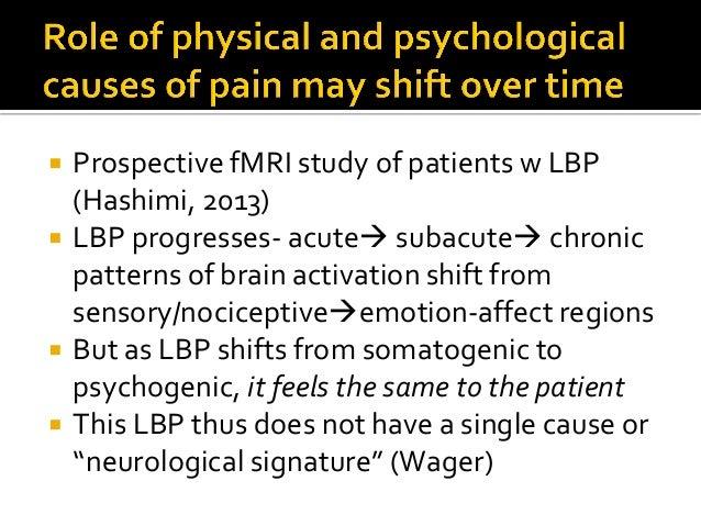  Enactive pain  Pain perception is an active process. It arises through and serves action promoting survival.  Damage-d...