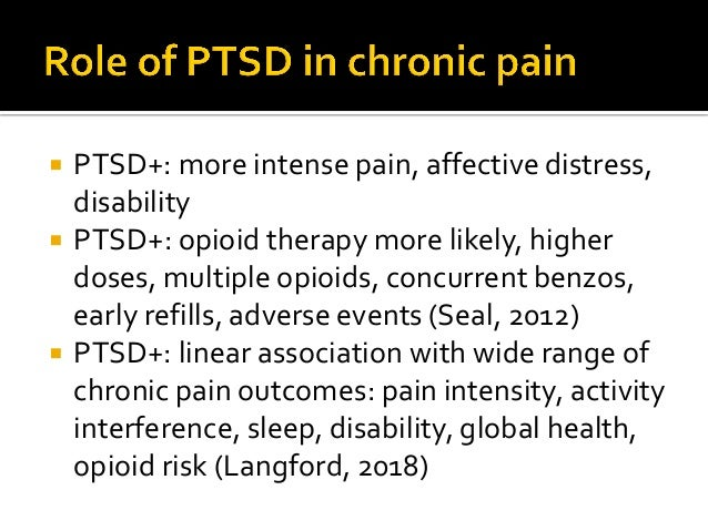  As you work with Ms. B to address PTSD sxs. (prazosin), depression (duloxetine) and disability (PT, OT) she reveals that...