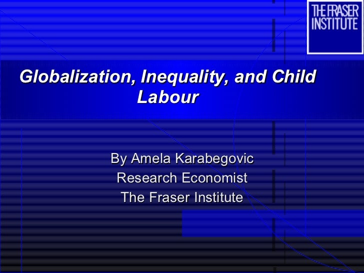The effects of globalization on child labor in developing countries