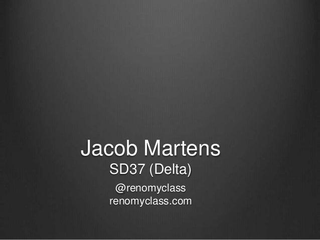 Jacob Martens SD37 (Delta) @renomyclass renomyclass.com