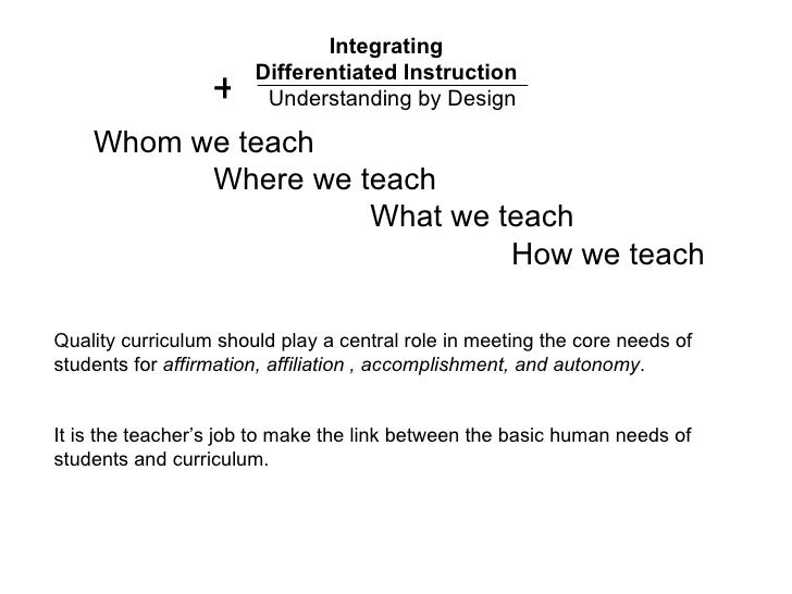 Supporting Differentiated Instruction | Solution Tree