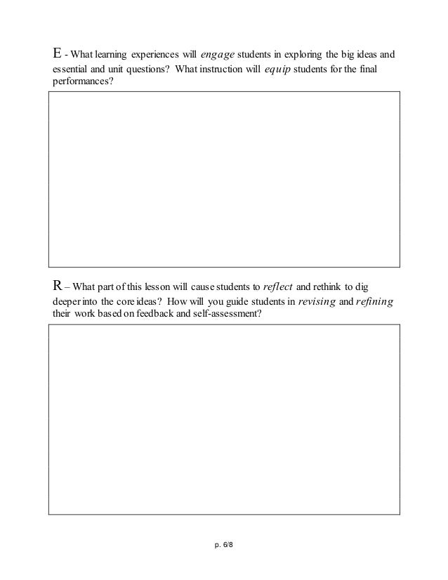 ub d lesson template sts ind, Presentation templates