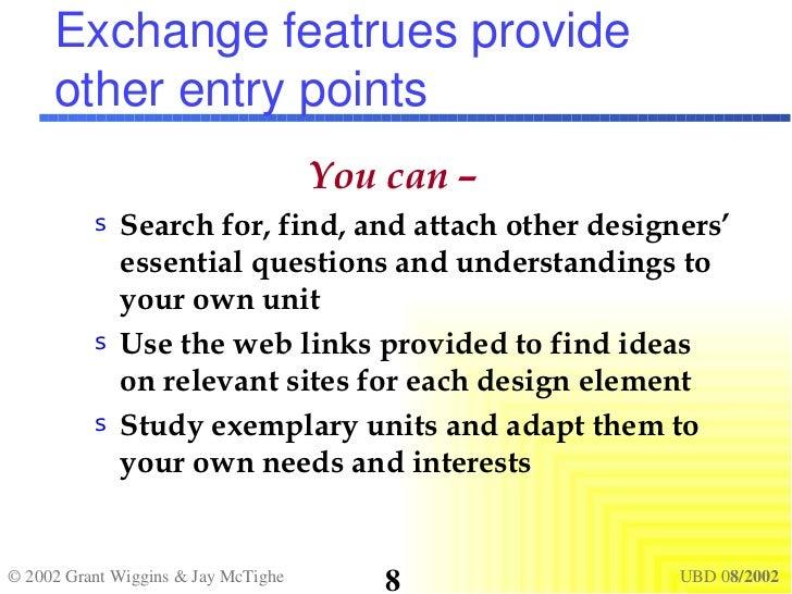 Unpacking understanding by design by grant wiggins et al exchange publicscrutiny Image collections