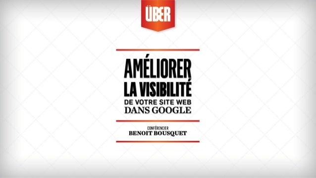 Améliorer la visibilité de votre site dans Google