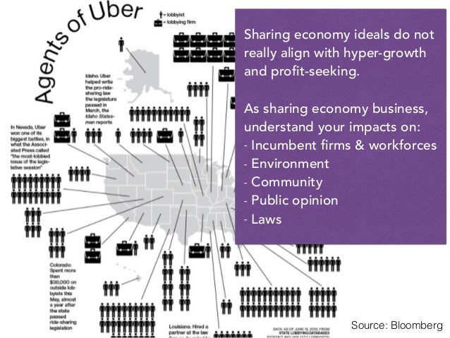 Sharing economy ideals do not really align with hyper-growth and profit-seeking. As sharing economy business, understand y...