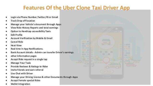 Uber Clone- Taxi Driver App