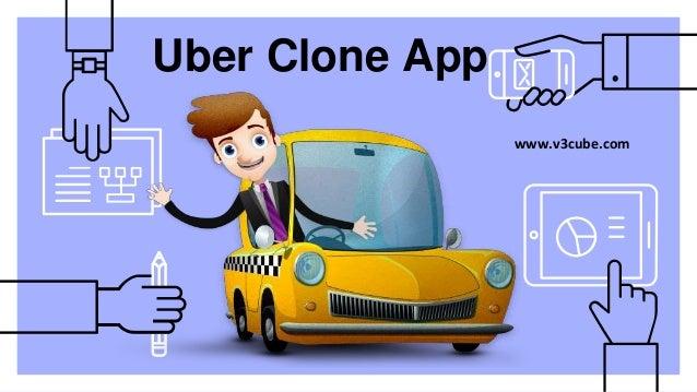 Uber Clone App www.v3cube.com