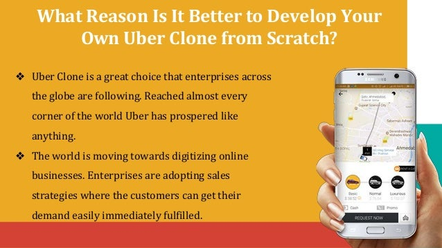 Uber clone on demand taxi booking app Slide 3
