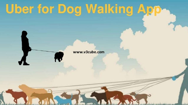On-demand Dog walkers app Uber for Dog Walking App www.v3cube.com
