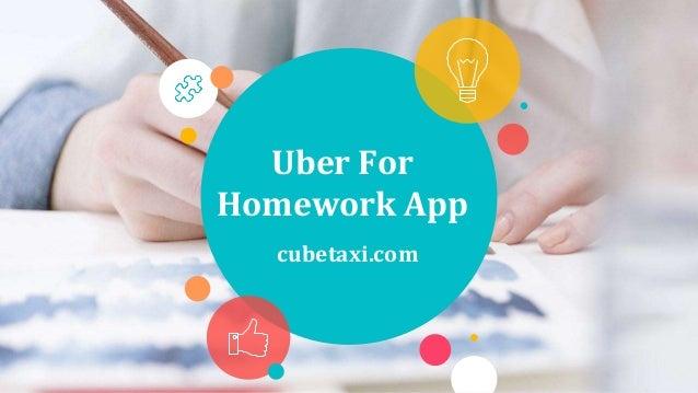 Uber For Homework App cubetaxi.com