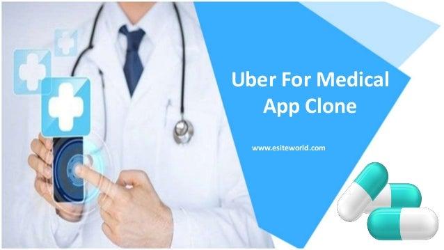 Uber For Medical App Clone www.esiteworld.com