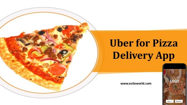 Uber for Pizza Delivery App www.esiteworld.com