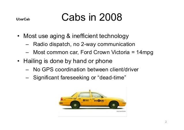 Uber pitch deck Slide 2