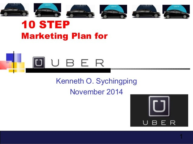 10 Step Marketing Plan - Uber