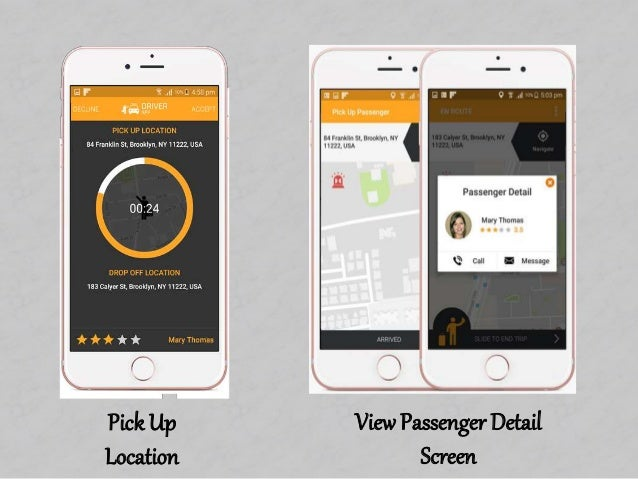 Uber Taxi Driver App