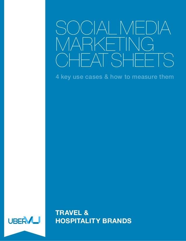 Social Media Marketing Cheat Sheets: Travel and Hospitality Brands