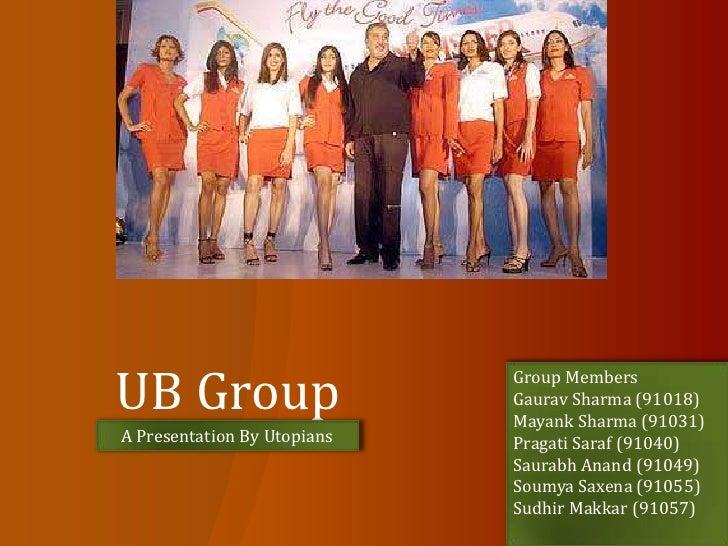 UB Group<br />Group Members<br />Gaurav Sharma (91018)<br />Mayank Sharma (91031)<br />Pragati Saraf (91040)<br />Saurabh ...