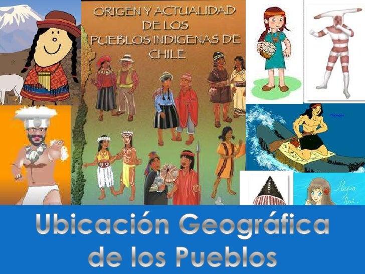 Ubicación Geográfica <br />de los Pueblos<br />