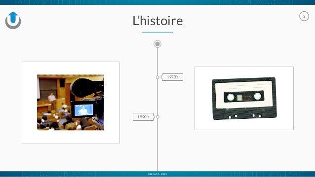 UBICAST - 2015 3 L'histoire 1970's 1990's