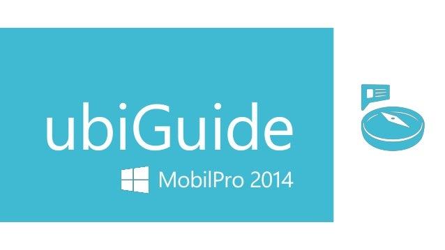ubiGuide MobilPro 2014