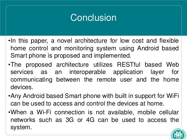 Ubiquitous Home Control And Monitoring System Using