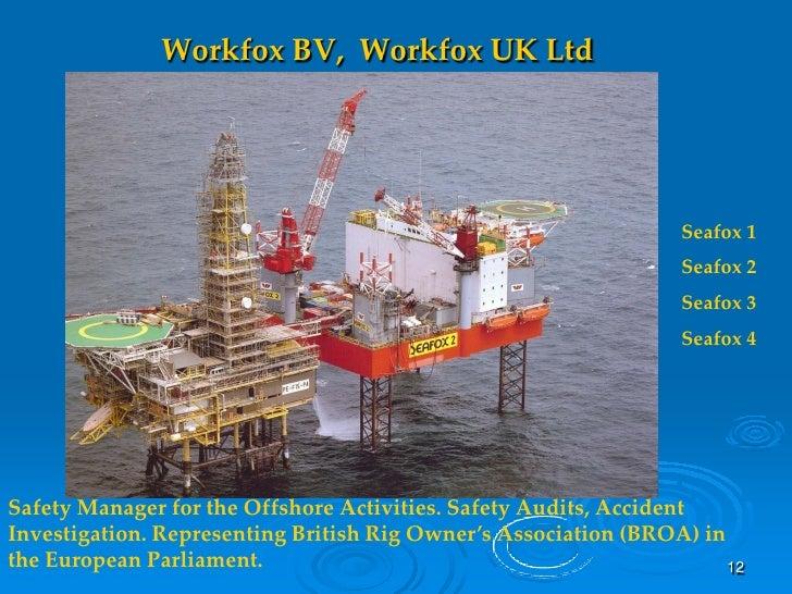 Workfox BV, Workfox UK Ltd                                                                      Seafox 1                  ...