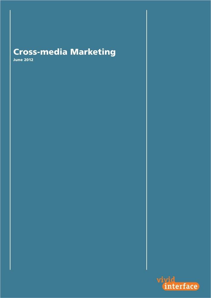Cross-media MarketingJune 2012                        1