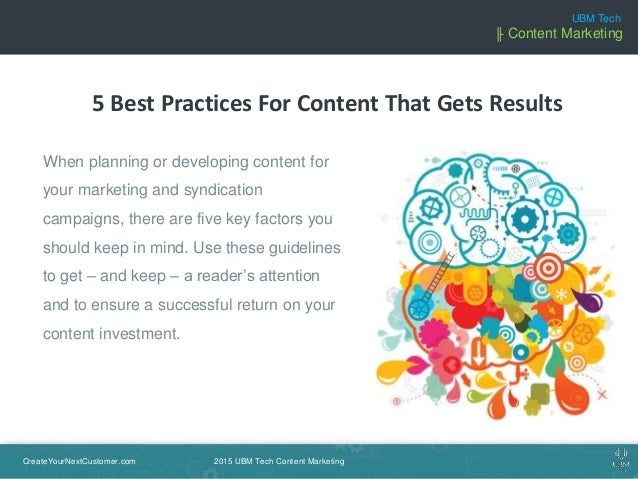 5 Best Practices For Content That Gets Results  Slide 2