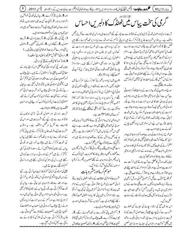 Ubqari magazine may 2013