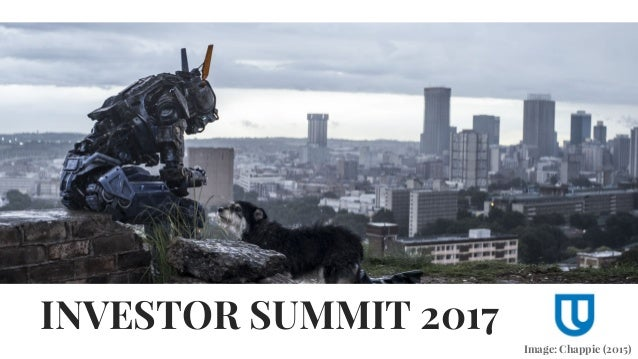 INVESTOR SUMMIT 2017 Image: Chappie (2015)