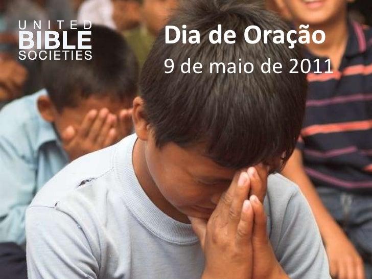 Dia de Oração 9 de maio de 2011