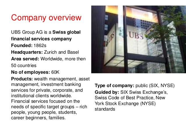 Organization Regulations of UBS Group