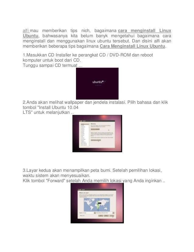 alfi mau memberikan tips nich, bagaimana cara menginstall Linux Ubuntu, bahwasanya kita belum banyk mengetahui bagaimana c...