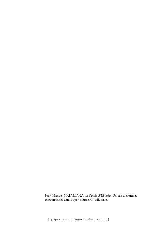 LE SUCCÈS D'UBUNTU : UN CAS D'AVANTAGE CONCURRENTIEL DYNAMIQUE DANS L'OPEN SOURCE Slide 2