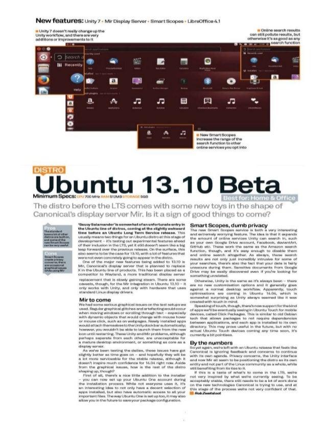 Ubuntu 13.10 beta