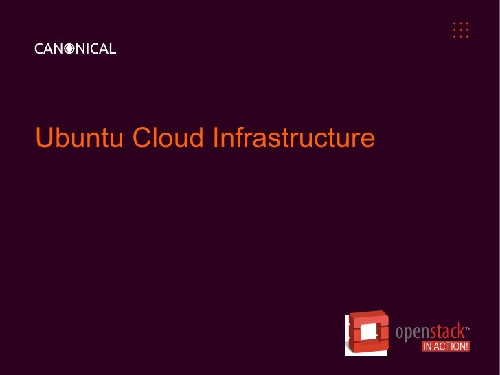 Ubuntu Cloud Infrastructure