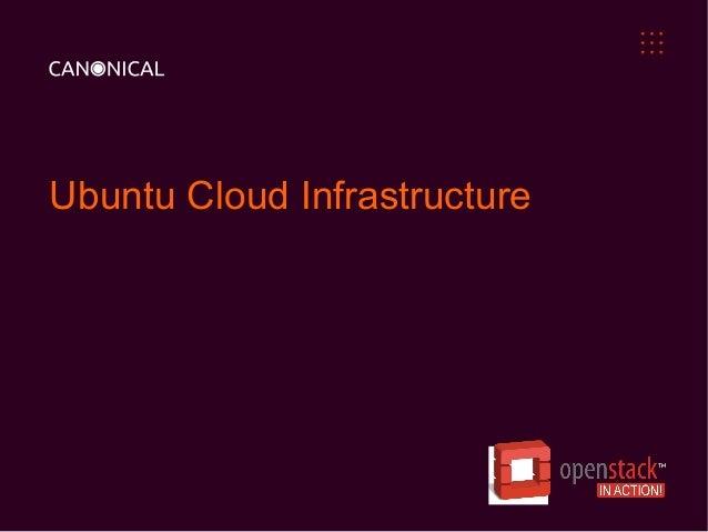 Ubuntu Cloud Infrastructure