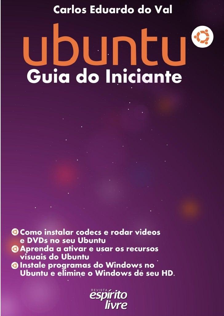 Ubuntu (Guia do Iniciante)