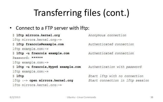 Ubuntu Linux Useful Commands
