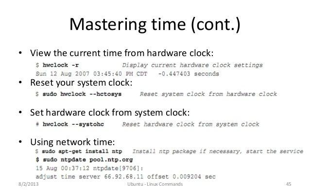 Ubuntu – Linux Useful Commands