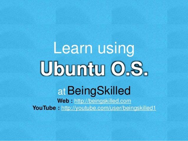 How To Learn Ubuntu-Linux Commands - Sudobits Blog