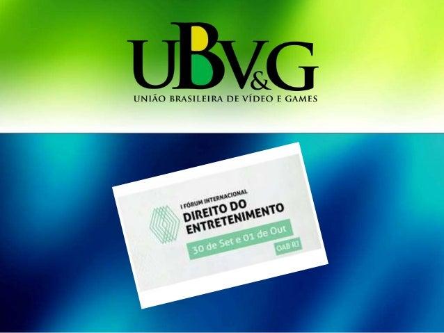 Games Desenvolvedores Indústria – UBV&G
