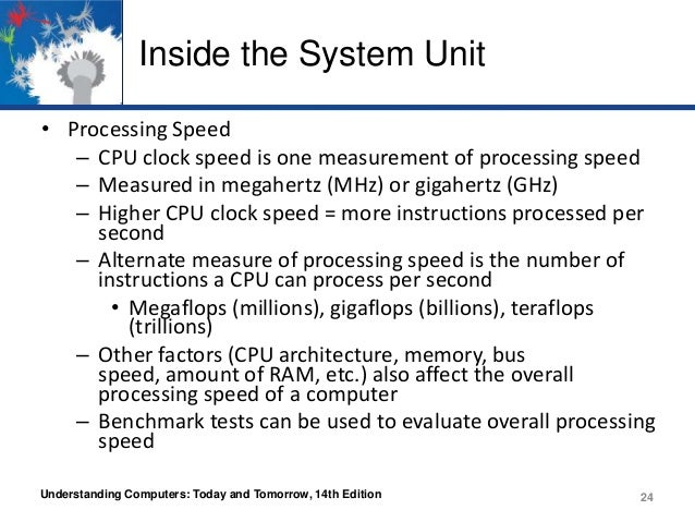 What unit is processor speed measure in?