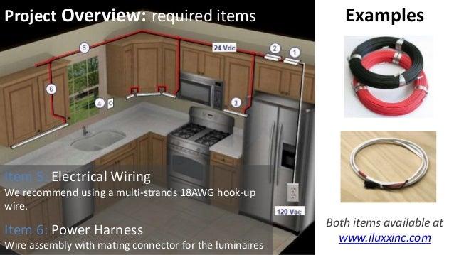 Under Cabinet Lighting Uc1 Series From Iluxx Installation Guide Kitchen  Wiring Code Low Voltage Puck Lights