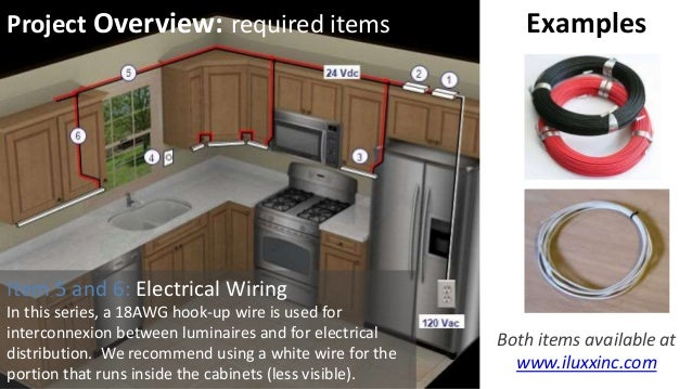 under cabinet lighting uc2a series from iluxx installation guide rh slideshare net Four-Wire Under Cabinet Lighting Direct Wire LED Under Cabinet