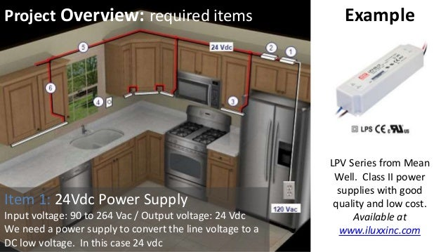 under cabinet lighting uc2a series from iluxx installation guide rh slideshare net Low Voltage Switch Wiring Low Voltage Electrical Wiring